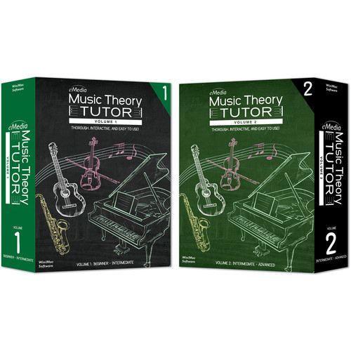 eMedia Music Music Theory Tutor Complete (Electronic Download, Mac)