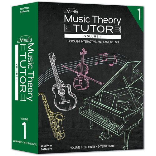 eMedia Music Music Theory Tutor Volume 1 (Electronic Download, Mac)
