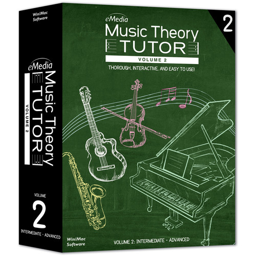 eMedia Music Music Theory Tutor Volume 2 (Electronic Download, Mac)