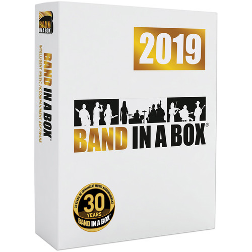 PG Music Band-in-a-Box 2019 Pro - Automatic Accompaniment Software (Windows, Download)