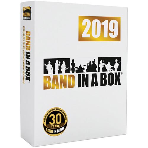 eMedia Music Band-in-a-Box 2019 Pro - Automatic Accompaniment Software (Windows, Download)