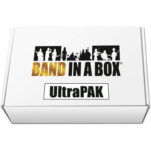 PG Music Band-in-a-Box 2019 UltraPAK - Automatic Accompaniment Software (Windows, USB Hard Drive)