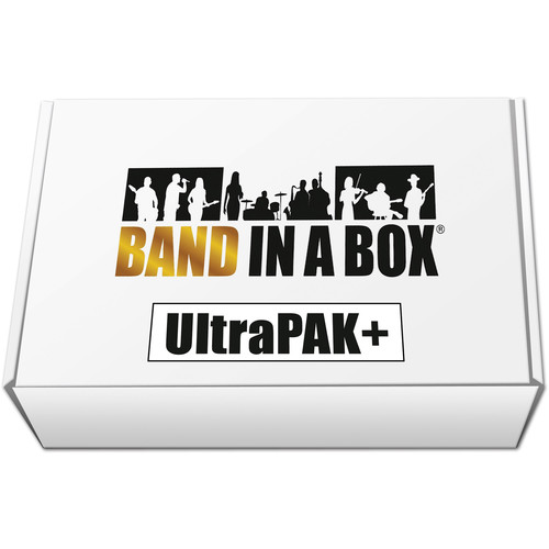 eMedia Music Band-in-a-Box 2019 UltraPAK+ - Automatic Accompaniment Software (Windows, USB Hard Drive)