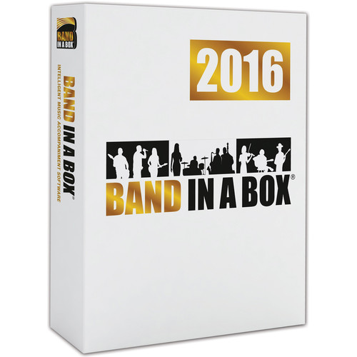 eMedia Music PG Music Band-in-a-Box 2016 Pro - Backing Band / Accompaniment Software (Mac, Download)