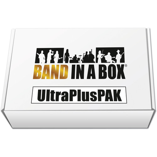 eMedia Music PG Music Band-in-a-Box 2016 UltraPlusPAK - Backing Band / Accompaniment Software (Windows, Download)
