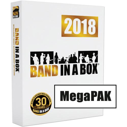eMedia Music Band-In-A-Box 2018 MegaPAK (Windows, DVD-ROM)