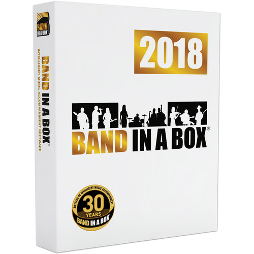 eMedia Music Band-In-A-Box Pro 2018 (Windows, DVD-ROM)