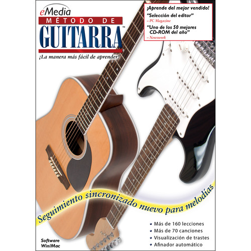 eMedia Music Guitar Method v5 Spanish - Guitar Learning Software (Mac, Download)