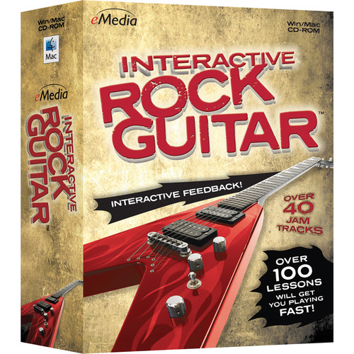 eMedia Music Interactive Rock Guitar - Rock Guitar Lessons for Mac (Download)