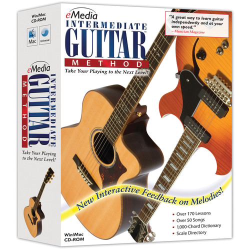 eMedia Music Intermediate Guitar Method Version 3.0 (Electronic Download, Mac)