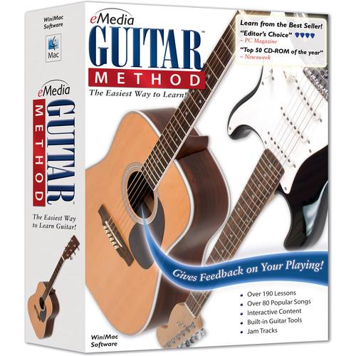 eMedia Music Guitar Method V6 - Beginner Guitar Lessons