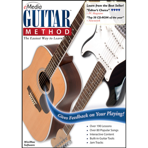 eMedia Music Guitar Method v6 - Guitar Learning Software (Mac, Download)