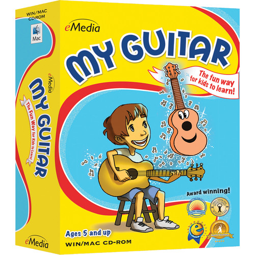 eMedia Music My Guitar - Child Guitar Lessons for Windows v2 (Download)