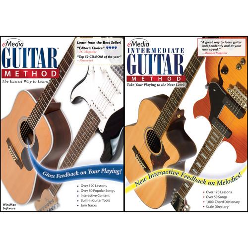 eMedia Music Guitar Method Deluxe - Guitar Learning Software (Windows, Download)