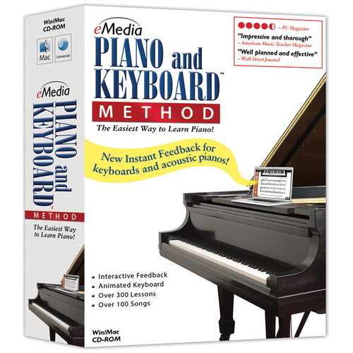 eMedia Music Piano and Keyboard Method v3 for Mac  (Electronic Download)