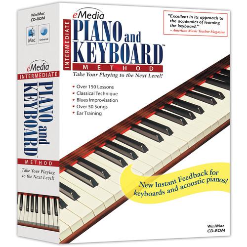 eMedia Music Intermediate Piano and Keyboard Method v2 for Mac (Download)