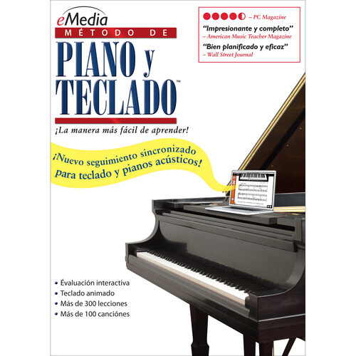 eMedia Music Piano and Keyboard Method v3 Spanish - Piano Learning Software (Mac, Download)