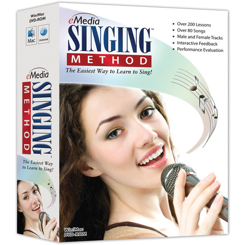 eMedia Music Singing Method - Beginner to Intermediate Singing Lessons for Windows (Download)