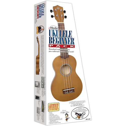 eMedia Music Ukulele Beginner Pack (Adults, Color Box)