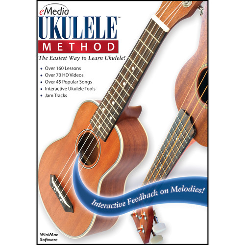 eMedia Music Ukulele Method - Ukulele Learning Software (Windows, Download)