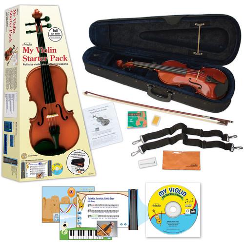 eMedia Music My Violin Starter Pack for Kids (Full-Size, Color Box)