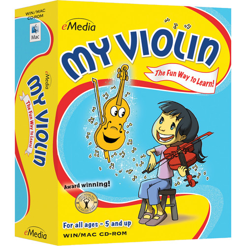 eMedia Music My Violin - Child Violin Lessons (Electronic Download, Windows)