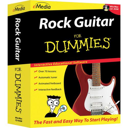 eMedia Music Rock Guitar For Dummies v2 (Electronic Download, Windows)