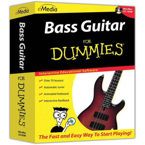eMedia Music Bass Guitar For Dummies - Beginner Bass Guitar Lessons for Mac (Download)