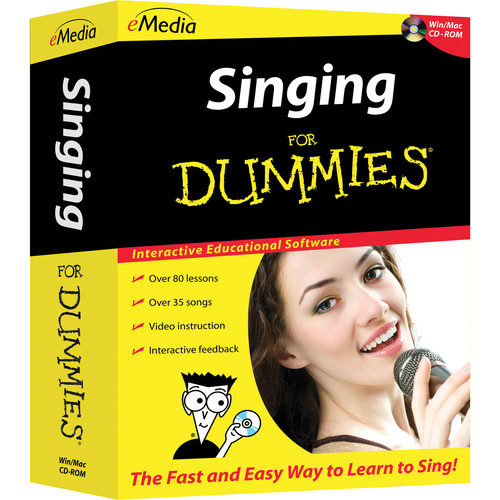 eMedia Music Singing for Dummies Level 1 (Electronic Download, Mac)
