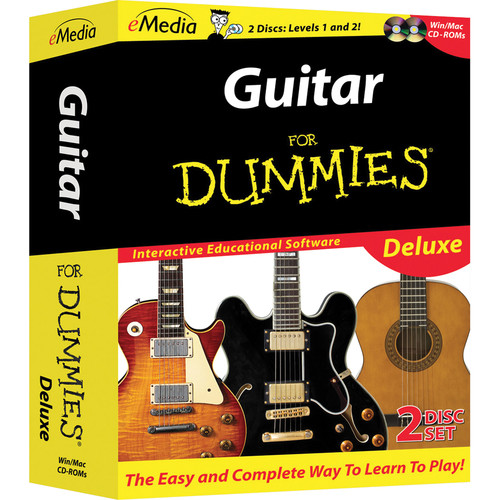 eMedia Music Guitar For Dummies Deluxe For Windows (Download)
