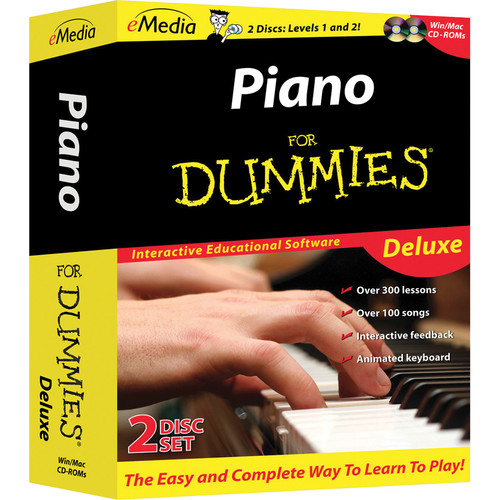eMedia Music Piano for Dummies Deluxe (Electronic Download, Mac)