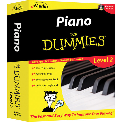 eMedia Music Piano For Dummies Level 2 - Piano Lessons for Windows (Download)