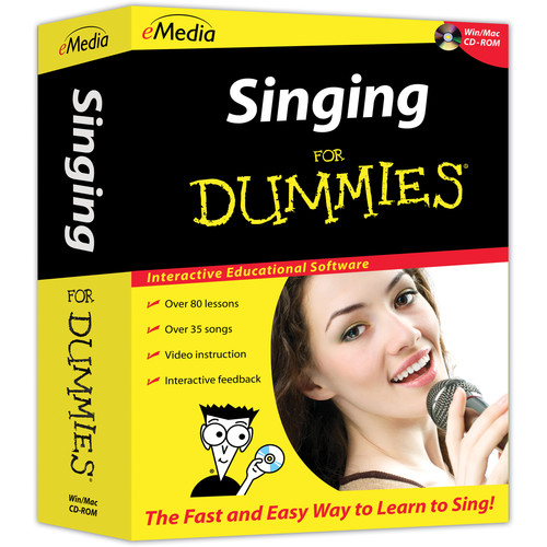 eMedia Music Singing For Dummies (Mac, Download)