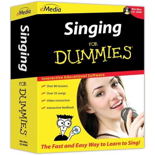 eMedia Music Singing For Dummies (Electronic Download, Mac)