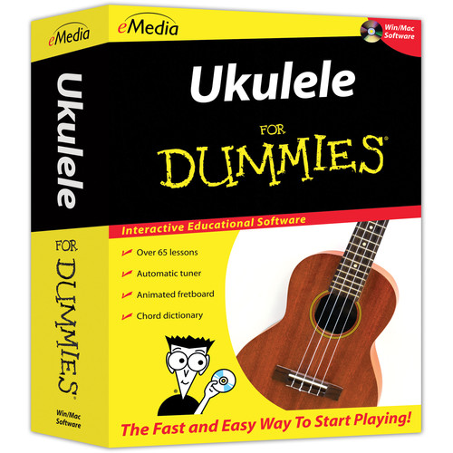 eMedia Music Ukulele For Dummies (DVD for Windows/Mac)