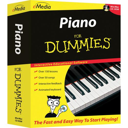 eMedia Music Piano for Dummies Level 1 Version 2 (Electronic Download, Mac)