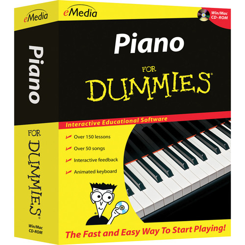 eMedia Music Piano for Dummies Level 1 Version 2 (Electronic Download, Windows)