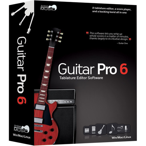 eMedia Music Guitar Pro 6 - Guitar Tab Editing and Composition Software (Download)