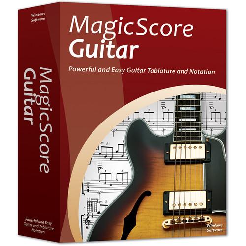 eMedia Music MagicScore Guitar - Guitar Tab and Notation Software (Download)
