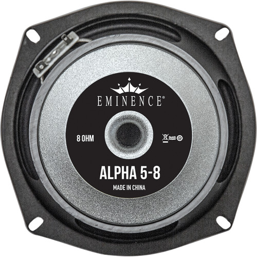 """Eminence ALPHA 5-8 American Standard Series 250W Mid-Bass Speaker for Line and Column Arrays (5"""" / 8 Ohms)"""