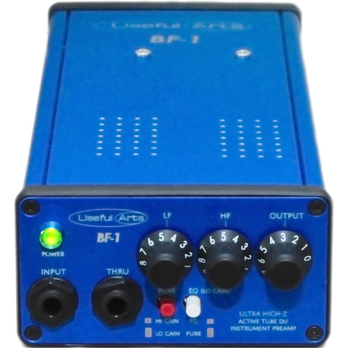 Useful Arts Audio BF-1 Tube Instrument Preamp and DI