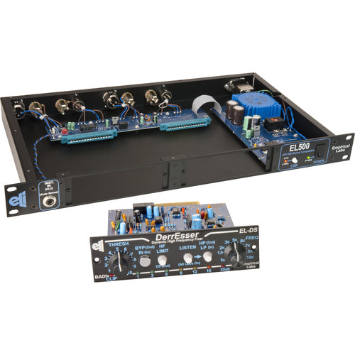EMPIRICAL LABS DerrEsser EL-DS PLUS 500-Series Dynamic High-Frequency Fixer (in EL500 Rack)