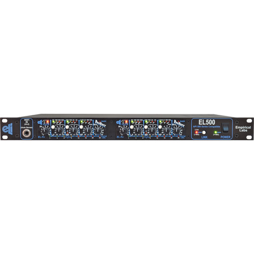 EMPIRICAL LABS DocDerr EL-RX DUO - 500 Series - Multi-Purpose Tone Module (Horizontal Pair in EL500 Rack)