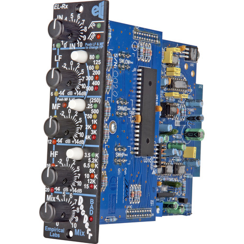 EMPIRICAL LABS DocDerr ELRX-V - 500 Series - Multi-Purpose Tone Module (Vertical Version)