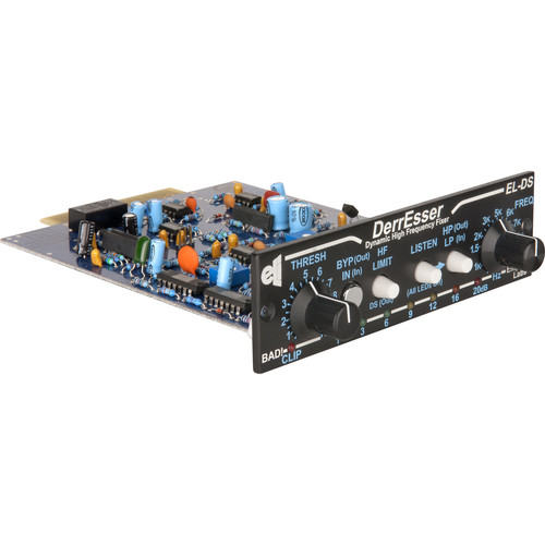 EMPIRICAL LABS DerrEsser ELDS-H 500-Series Dynamic High-Frequency Fixer (Horizontal Version)