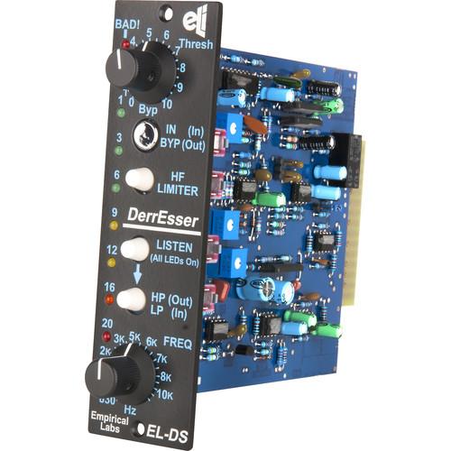 EMPIRICAL LABS DerrEsser ELDS-V 500-Series Dynamic High-Frequency Fixer (Vertical Version)