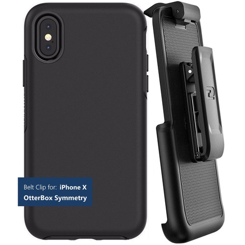 Encased Belt Clip Holster for iPhone X with OtterBox Symmetry Case