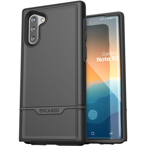 Encased Rebel Series Case for Samsung Galaxy Note10 (Black)