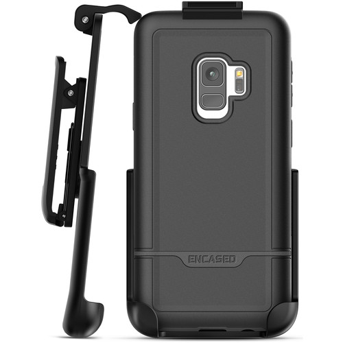 Encased Rebel Series Case with Belt Clip Holster for Samsung Galaxy S9