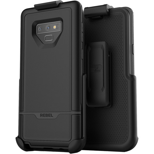 Encased Rebel Series Case with Belt Clip Holster for Samsung Galaxy Note9